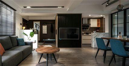 50平米一居室混搭风格玄关效果图