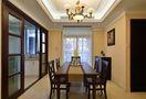 140平米四室三厅美式风格餐厅装修案例