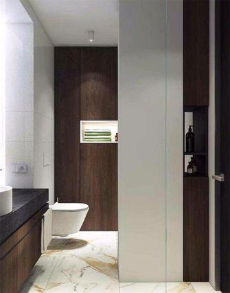 80平米现代简约风格卫生间图片