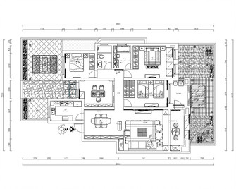 20万以上130平米四室两厅中式风格楼梯图