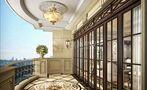 140平米别墅法式风格阳光房图