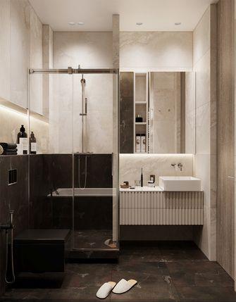 60平米一居室东南亚风格卫生间装修案例