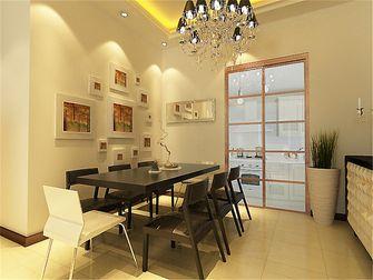 130平米三室两厅欧式风格餐厅背景墙欣赏图