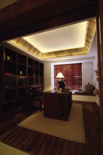110平米三室两厅东南亚风格书房图