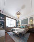 140平米三室两厅法式风格卧室图片大全