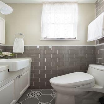 110平米三室三厅美式风格卫生间装修效果图