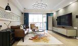 100平米三室两厅东南亚风格客厅装修案例