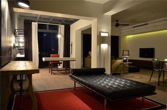 5-10万90平米现代简约风格客厅效果图