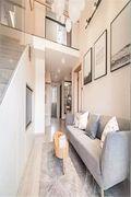 70平米一室一厅中式风格客厅欣赏图