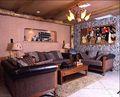 豪华型140平米别墅田园风格影音室欣赏图