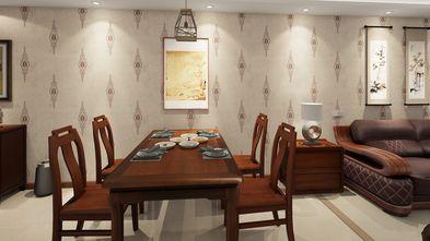 80平米中式风格餐厅装修案例