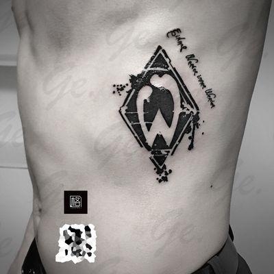 图腾 云达不莱梅标志纹身图