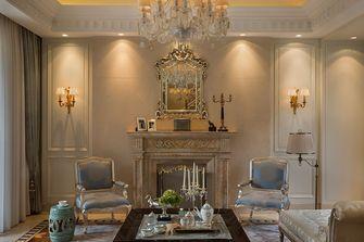 90平米三室两厅法式风格客厅设计图