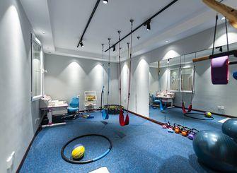 140平米三室两厅混搭风格健身室效果图
