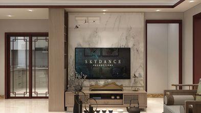 100平米三室一厅中式风格客厅装修效果图