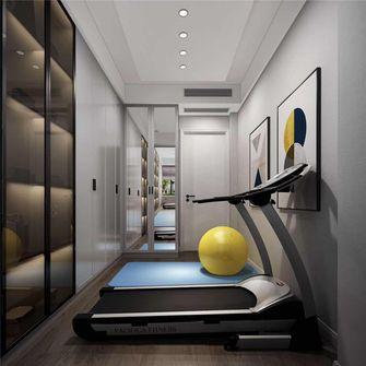 110平米三室两厅现代简约风格健身室装修案例