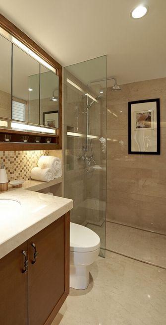 120平米四室两厅中式风格卫生间欣赏图