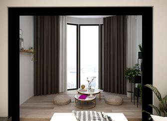 80平米公寓现代简约风格阳台装修图片大全