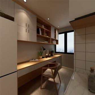 50平米现代简约风格书房设计图