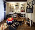 80平米美式风格儿童房装修案例