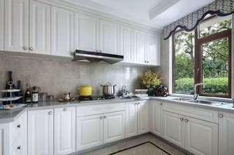 130平米三法式风格厨房装修案例