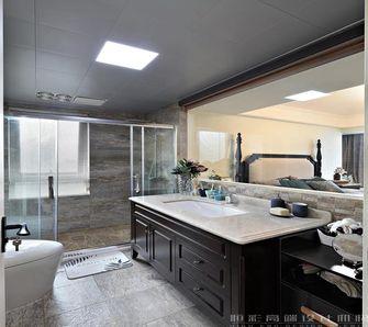 130平米四室两厅美式风格卫生间欣赏图