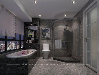 140平米四室两厅现代简约风格卫生间浴室柜装修案例