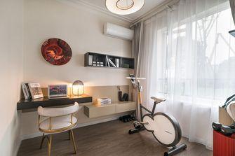 120平米三室两厅现代简约风格健身室欣赏图