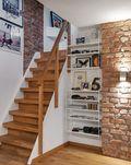 15-20万100平米复式英伦风格楼梯装修案例