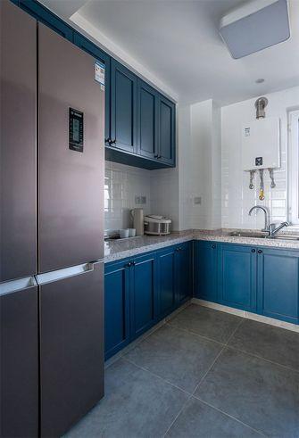 90平米三室两厅混搭风格厨房装修效果图