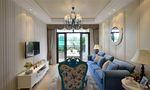 140平米三室三厅地中海风格客厅设计图