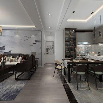 90平米三中式风格走廊装修案例