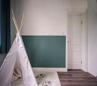110平米三室一厅美式风格儿童房装修图片大全