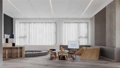 140平米复式现代简约风格儿童房图