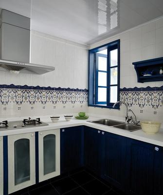70平米复式地中海风格厨房装修案例