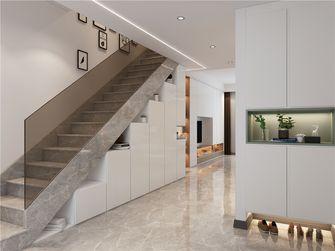140平米三现代简约风格楼梯间装修案例