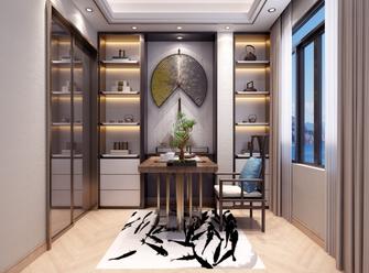 140平米复式中式风格书房装修效果图