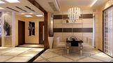 经济型100平米三室三厅东南亚风格餐厅图