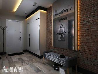 130平米三室两厅混搭风格玄关设计图
