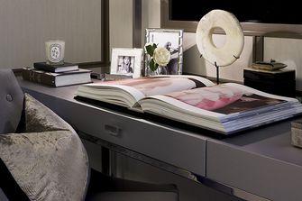 110平米欧式风格书房效果图