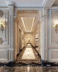 140平米四室一厅欧式风格走廊装修效果图
