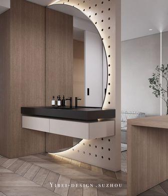 80平米一居室现代简约风格卫生间欣赏图