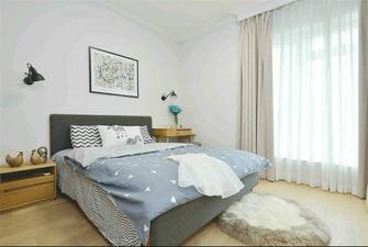 120平米三室两厅北欧风格卧室家具图片
