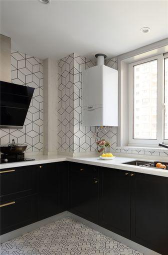 110平米三室两厅混搭风格厨房装修效果图