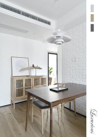 80平米三室两厅日式风格餐厅装修图片大全