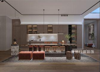 140平米四室三厅现代简约风格餐厅图片大全