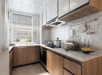 120平米三室两厅英伦风格厨房效果图