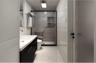 110平米三混搭风格卫生间装修案例