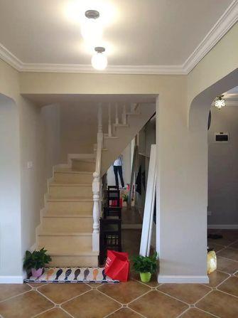 100平米三室两厅北欧风格楼梯间图