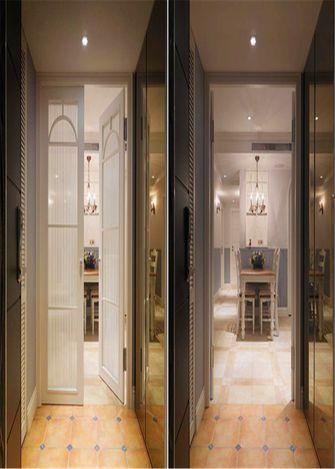 130平米三室两厅田园风格阳台装修效果图